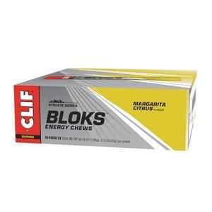 Clif Bar Clif Blok Margerita + 3x Sodium - Energy Chew doos 18 stuks