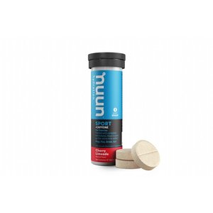 Nuun Cherry Lime + Caffeïne - Nuun Energy Sportdrank 1 buisje a 10 tabletten