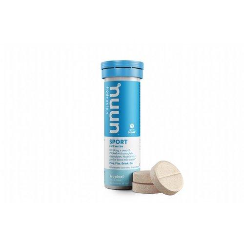 Nuun Tropical Fruit - Nuun Sport Sportdrank 1 buisje a 10 Tabletten