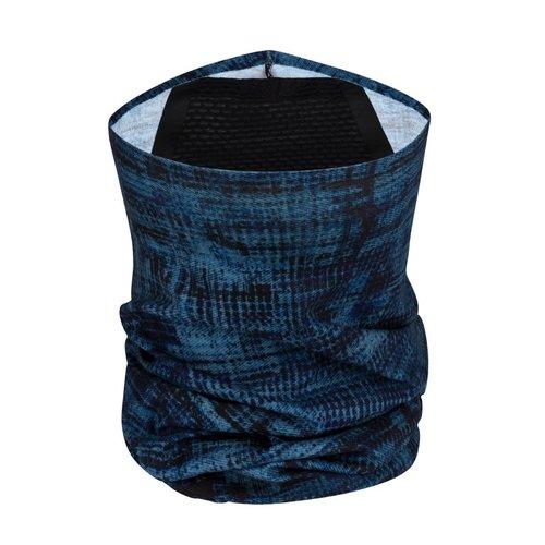 BUFF® BUFF® Mondkapje model neckwarmer met filter - sture denim