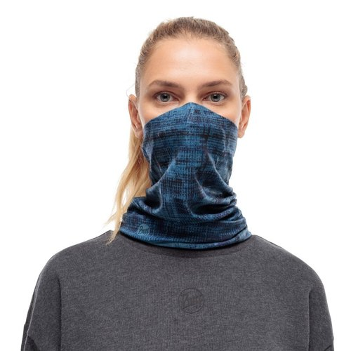 BUFF® BUFF® Mondkapje model neckwarmer met filter - sture denim