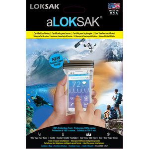 Loksak Loksak 8.89x16.5 cm smartphonehoes