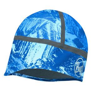 BUFF® Windproof Hat Buff® - Mountain Bits Blue