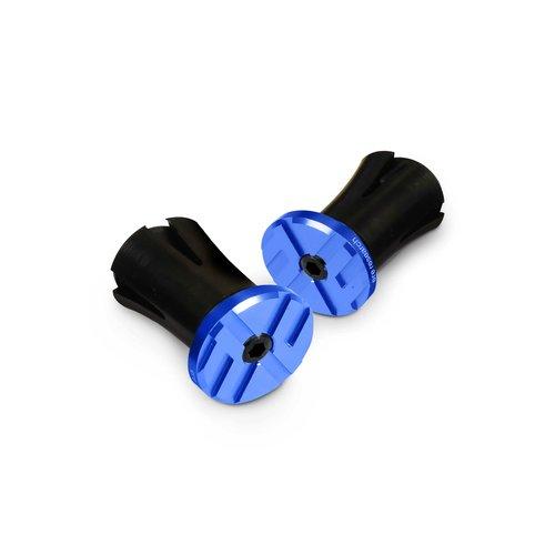 Ere Research ERE Eindkap stuurlint aluminium - blauw