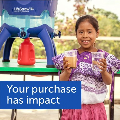 LifeStraw LifeStraw Go 1 Liter Blue