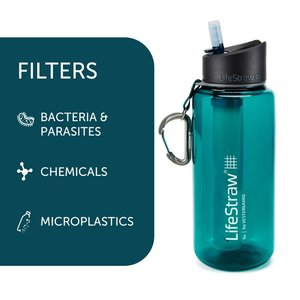 LifeStraw LifeStraw Go 1 Liter Dark Teal