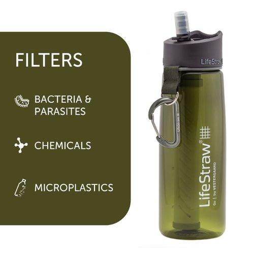 LifeStraw LifeStraw Go 0,7 Liter Green