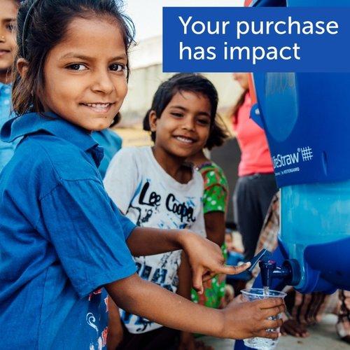 LifeStraw LifeStraw Go 0,7 Liter Light Blue
