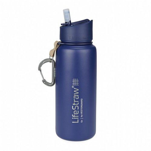 LifeStraw LifeStraw Go 0,7 Liter Stainless Steel Blue