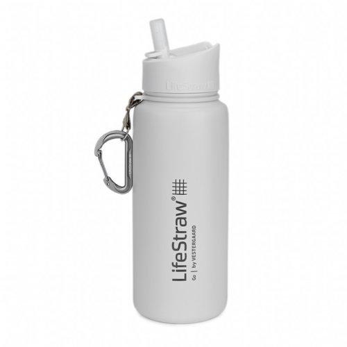 LifeStraw LifeStraw Go 0,7 Liter Stainless Steel White