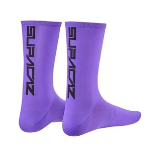 Supacaz Supacaz  Straight Up Neon Purple & Black