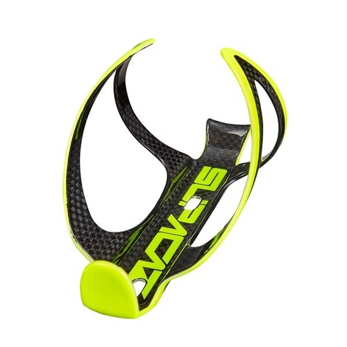 Supacaz Supacaz Fly Cage Carbon Neon Yellow