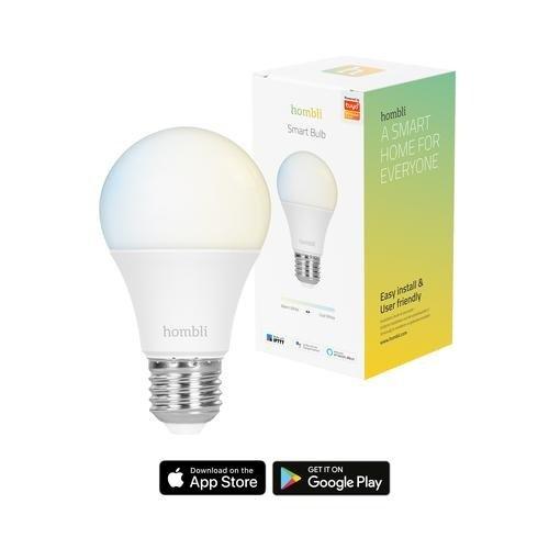 Hombli Hombli Smart Lamp LED Wit E27 9W