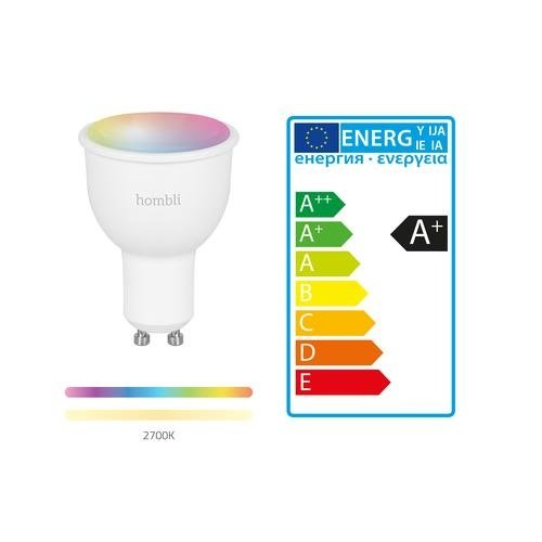 Hombli Hombli Smart Lamp Gekleurd LED GU10 4,5W