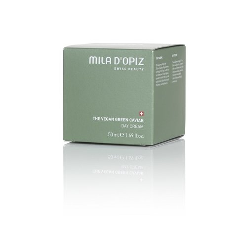 Mila d'Opiz Mila d'Opiz swiss beauty The Vegan green caviar day cream, dag crème Staffelkorting !