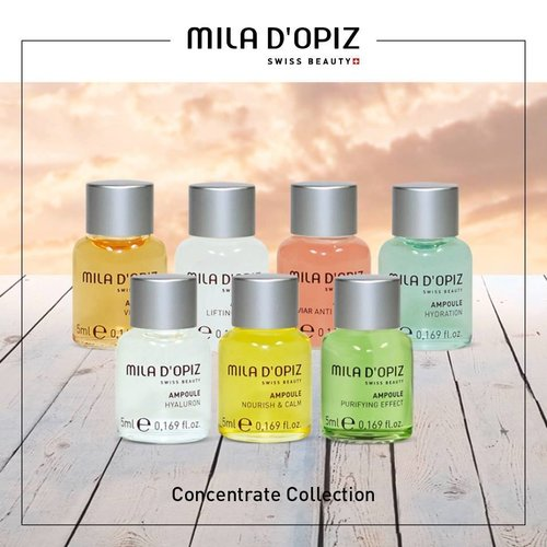 Serums, ampoules or concentrates