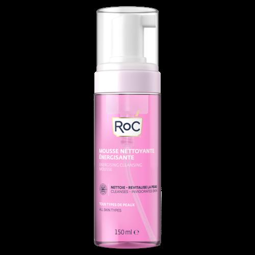 ROC RoC® Energising Cleansing Mousse-Mousse nettoyant energisant-tous types de peau