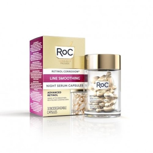 ROC RoC® Retinol Correxion Line Smoothing Night Serum 30 Capsules