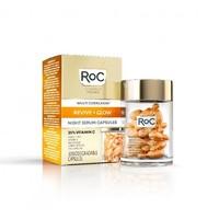 RoC® Multi Correxion Revive & Glow Vitamin C Night Serum Capsules 30 stuks