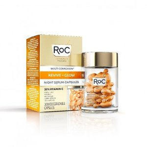 ROC RoC® Multi Correxion Revive & Glow Vitamin C Night Serum Capsules 30 stuks