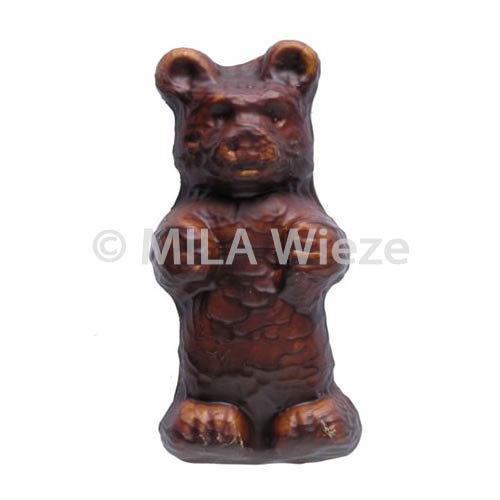 Guimauve beer - met chocolade omhuld - 7 cm - 60 st