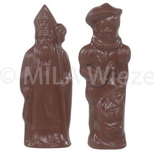 Sint & Piet- 40 x 50 gr - in fijne Callebaut chocolade