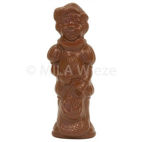 Lachende Piet - 40 x 35 gr - in fijne Callebaut chocolade