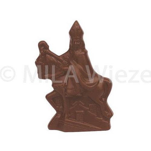 Sint te paard - 20 x 100 gr - in fijne Callebaut chocolade