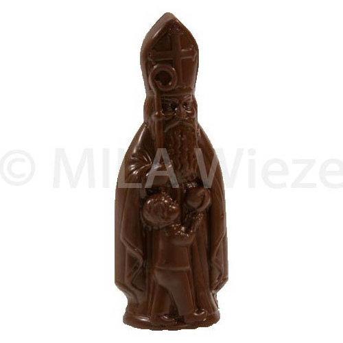Sint met kind - 18 x 90 gr - in fijne Callebaut chocolade