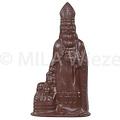 Sint met 3 kinderen - 33 x 60 gr - in fijne Callebaut chocolade
