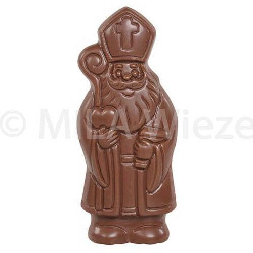 Lachende Sint - 40 x 50 gr - in fijne Callebaut chocolade