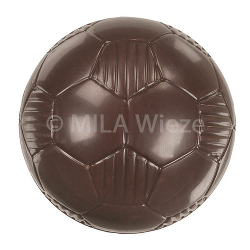 Chocolade voetbal - 50 x 20 gr - in fijne Callebaut chocolade