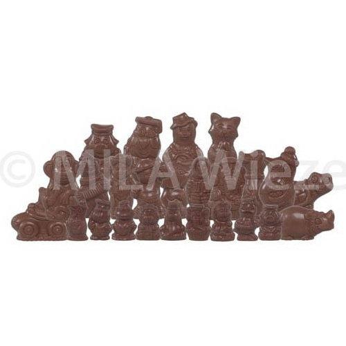 Sinterklaasfiguren - 2 kg - fijne Callebaut chocolade