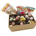 Sinterklaasmand - voor 35 tot 40 personen - met snoepgoed en chocolade van de Sint