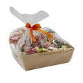 Sinterklaasmand - voor 25 tot 30 personen - met snoepgoed en chocolade van de Sint