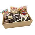 Sinterklaasmand - voor 15 tot 20 personen - met snoepgoed en chocolade van de Sint