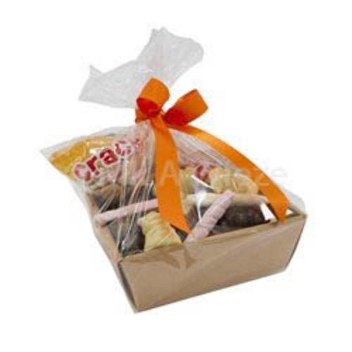 Sinterklaasmand - voor 5 tot 10 personen - met snoepgoed en chocolade van de Sint