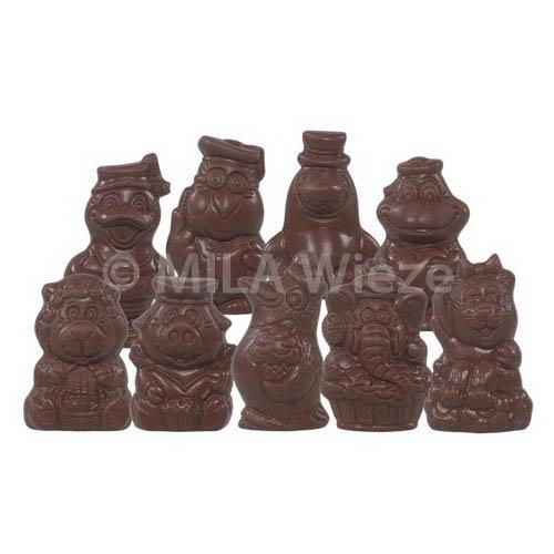 Sinterklaas piepfiguren - 1,5 kg - fijne Callebaut chocolade