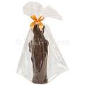 Piet - 250 gr - 25 cm - verpakt in mica - fijne Callebaut chocolade