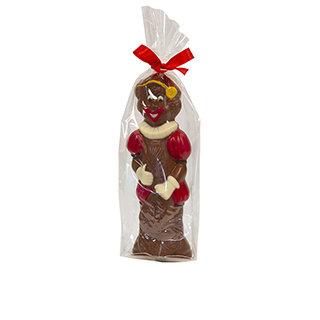 Chocolade sinterklaas figuren verpakt