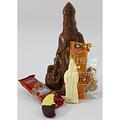 Chocolade Sint250 gr met snoepgoed van de Sint