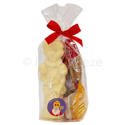 Sinterklaaspakketje - mica zakje groot Piet