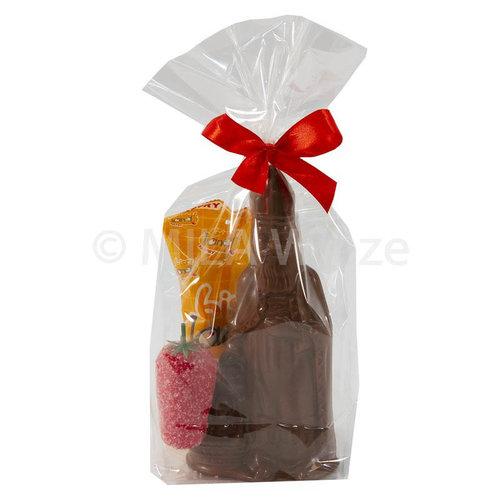 Sinterklaaspakketje - mica zakje klein A - luxe geschenkje