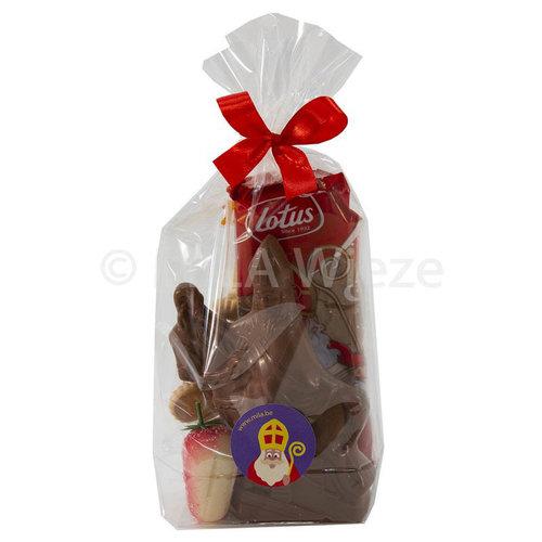 Sinterklaaspakketje - mica zakje reuze Sint- luxe geschenkje