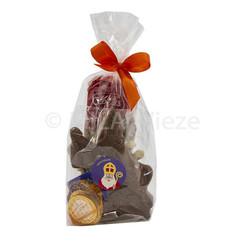 Sinterklaaspakketje - Sint te paard met snoepgoed van de Sint
