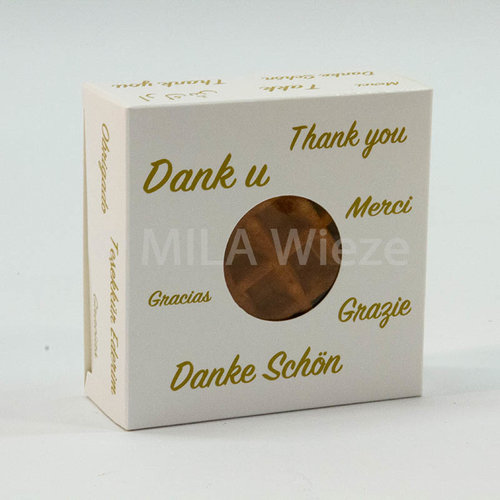 Pakketje dag van de leerkracht: vanille wafels