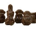 Zoo diertjes  hol - 1,5 kg   - fijne Callebaut chocolade