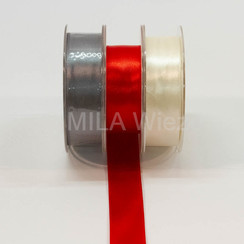 Satijnen lint - 1 cm