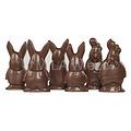 Chocolade paasfiguren modern - 2 kg