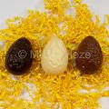 Gelijke paaseieren - 7 cm - min 30 gr